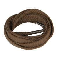 Dark Brown Flat Shoe Laces