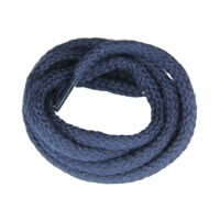 Lacets cordelets Bleu Marine