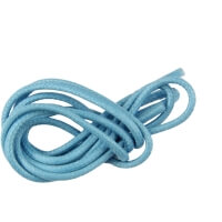 Sky Blue Round Waxed Shoe Laces