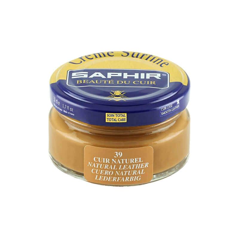 Saphir Leather Beige Superfine Shoe Cream
