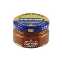 Cirage marron cuivré SAPHIR - Crème Surfine