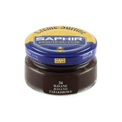 Cirage marron havane SAPHIR - Crème Surfine