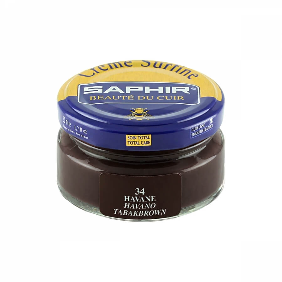 Saphir Havana Brown Superfine Shoe Cream