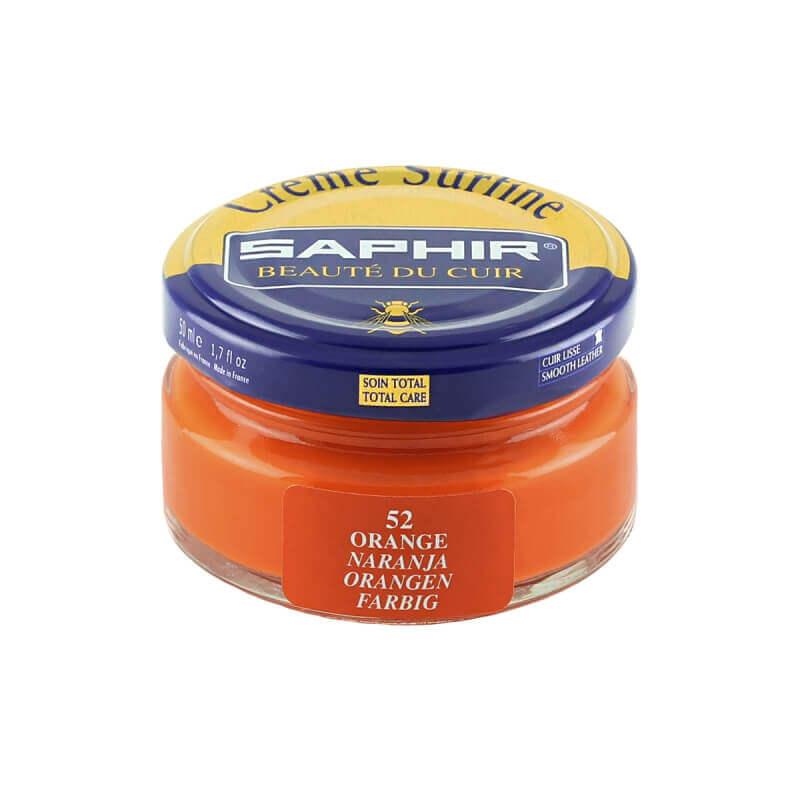 Cirage orange SAPHIR - Crème Surfine