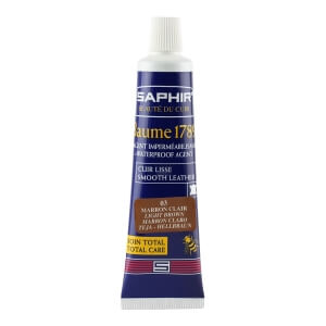 Saphir Light Brown Deluxe Shoe Cream in a Tube