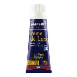 Cirage SAPHIR bleu marine - Crème de luxe en applicateur