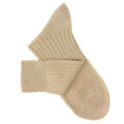 Chaussettes fil d'Ecosse beige