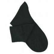 Dark Green Cotton Lisle Socks