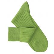 Chaussettes fil d'Ecosse vert clair