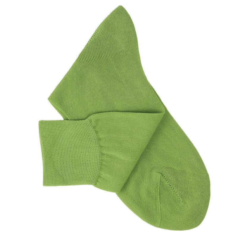 Chaussettes maille rasée vert clair