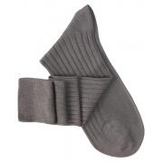 Grey Lisle Knee High Socks