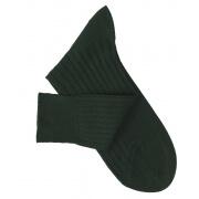 Dark Green Lisle Socks