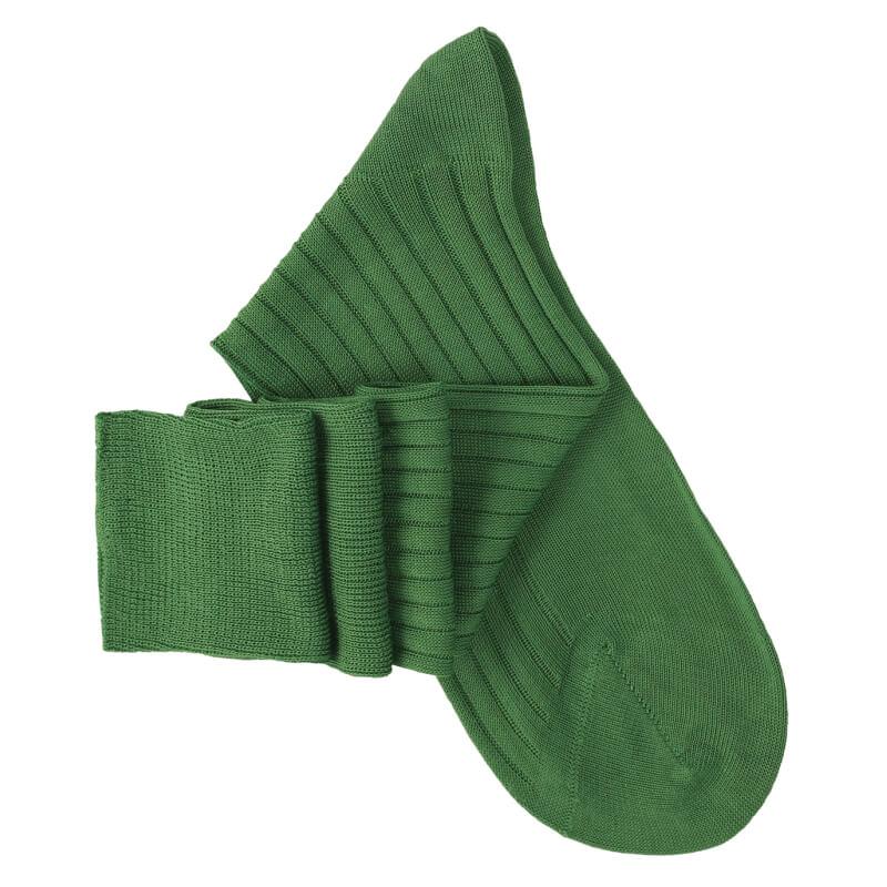Garden Green Knee High Socks