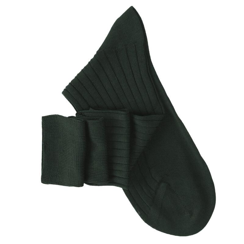 Dark Green Knee High Socks