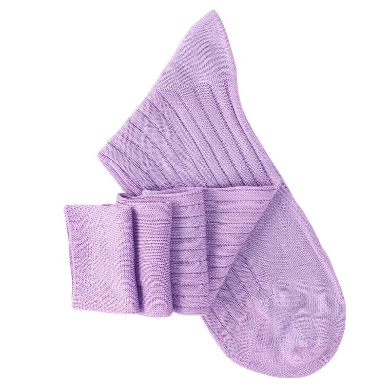 Mauve Knee High Socks