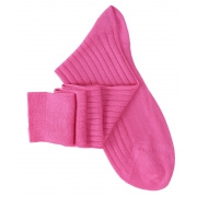 Fuchsia Pink Knee High Socks