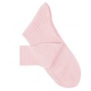 Chaussettes fil d'Ecosse rose pâle