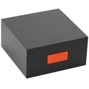 Orange Shoe Shine Box