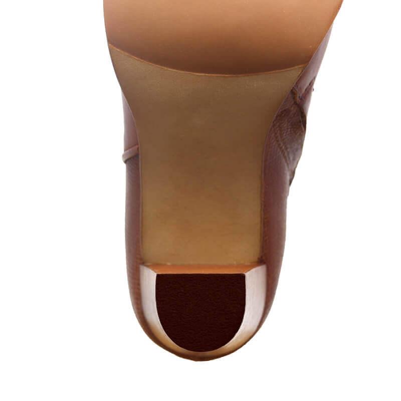 Remplacement bonbouts marron - femme