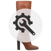 Rénovation bottes cuir