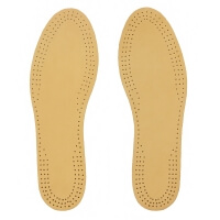 Leather and Charcoal Insoles