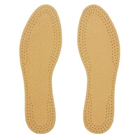 Leather and Cork Insoles