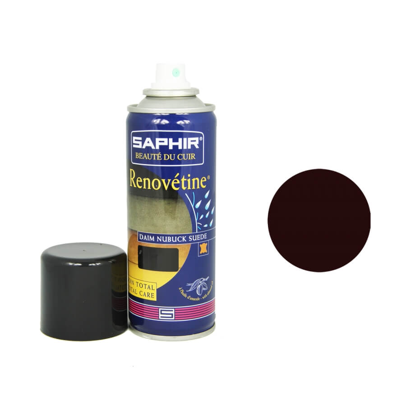 Rénovateur daim bordeaux SAPHIR - Renovétine aérosol