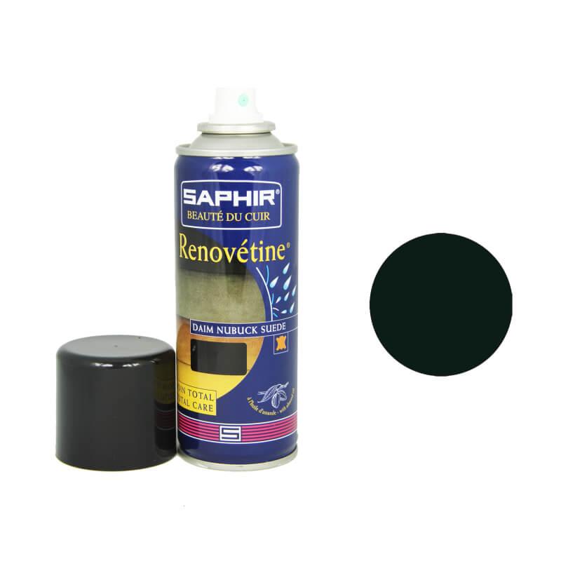 Rénovateur daim vert foncé SAPHIR - Renovétine aérosol