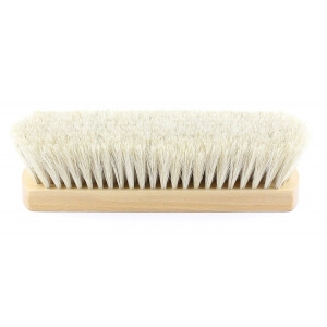 Monsieur Chaussure Large White Shoe Shine Brush