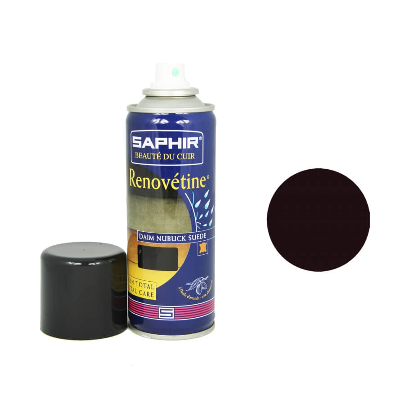 Rénovateur daim prune SAPHIR - Renovétine aérosol