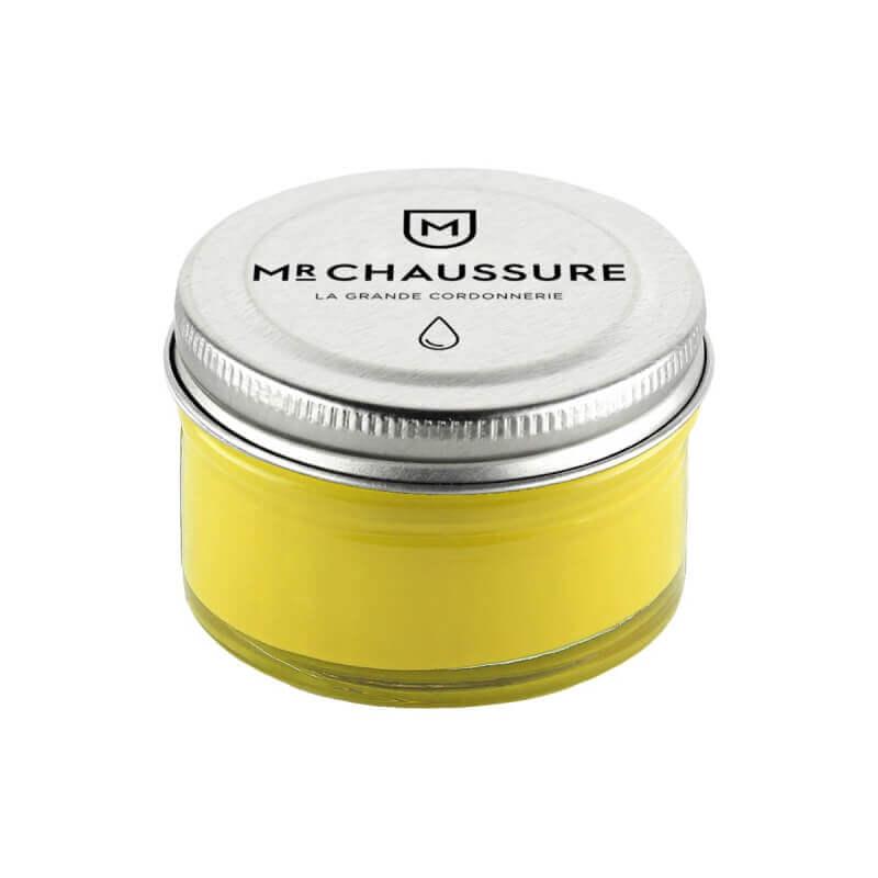 Crème de cirage jaune Monsieur Chaussure