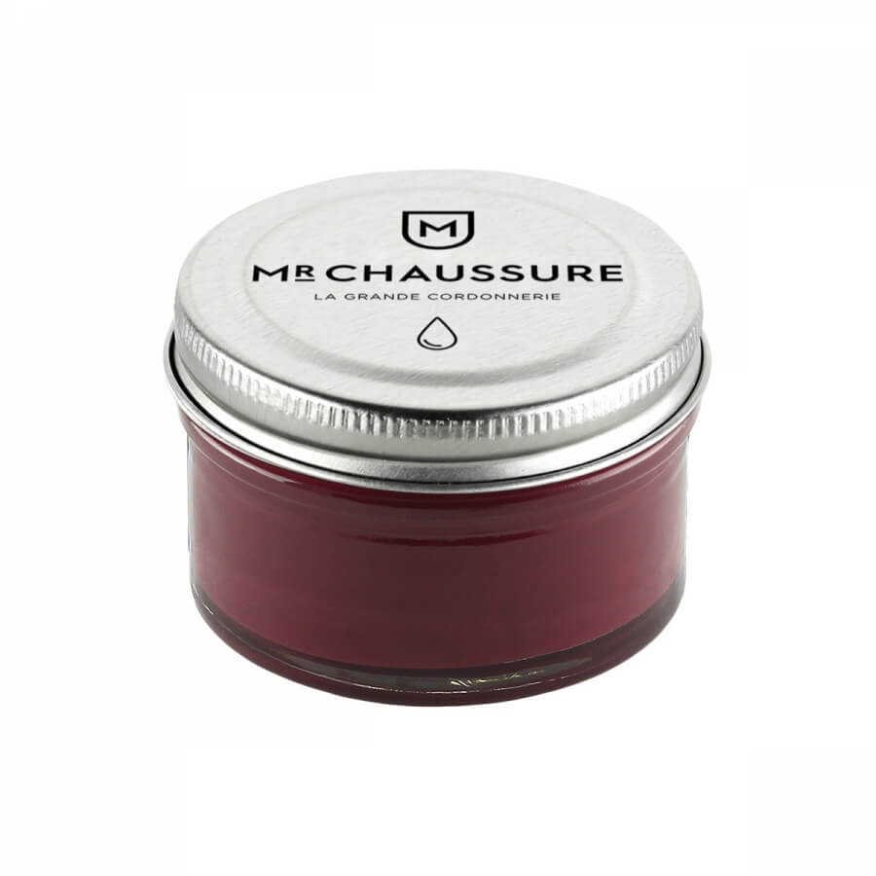 Monsieur Chaussure Purple Shoe Cream