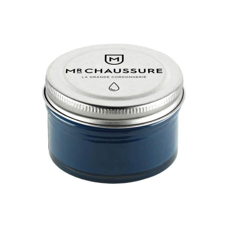 Monsieur Chaussure Pétrol blue Shoe Cream