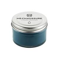 Crème de cirage bleu canard Monsieur Chaussure