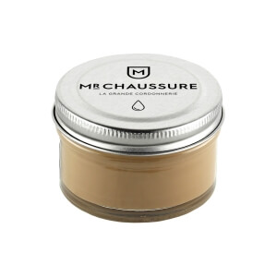 Monsieur Chaussure Beige Shoe Cream