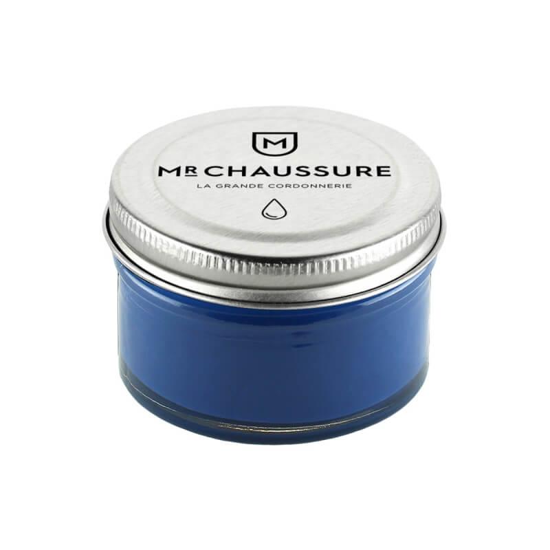 Crème de cirage Bleu cobalt Monsieur Chaussure
