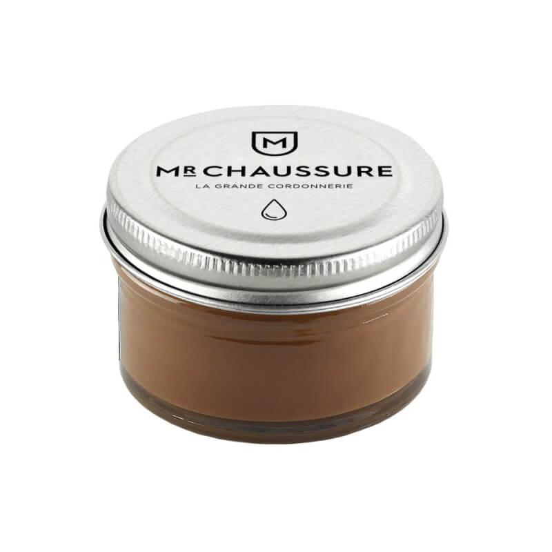 Crème de cirage marron clair Monsieur Chaussure