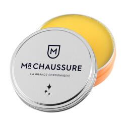 Pâte de cirage jaune cire Monsieur Chaussure