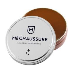 Pâte de cirage marron clair Monsieur Chaussure