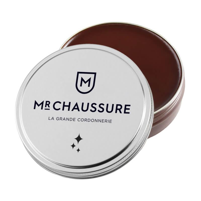 Pâte de cirage marron moyen Monsieur Chaussure