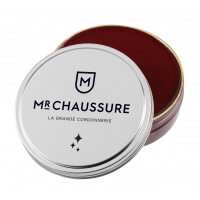 Pâte de cirage bordeaux Monsieur Chaussure