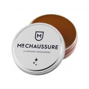 Pâte de cirage Monsieur Chaussure marron clair 50 ml