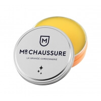Monsieur chaussure Beeswax Yellow Shoe Polish 50ml