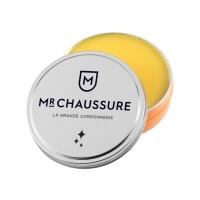 Pâte de cirage jaune cire Monsieur Chaussure 50ml