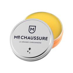 Pâte de Cirage Monsieur Chaussure jaune cire 50 ml