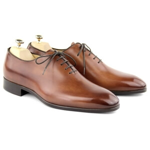One Cut Shoes MC01 - Cognac