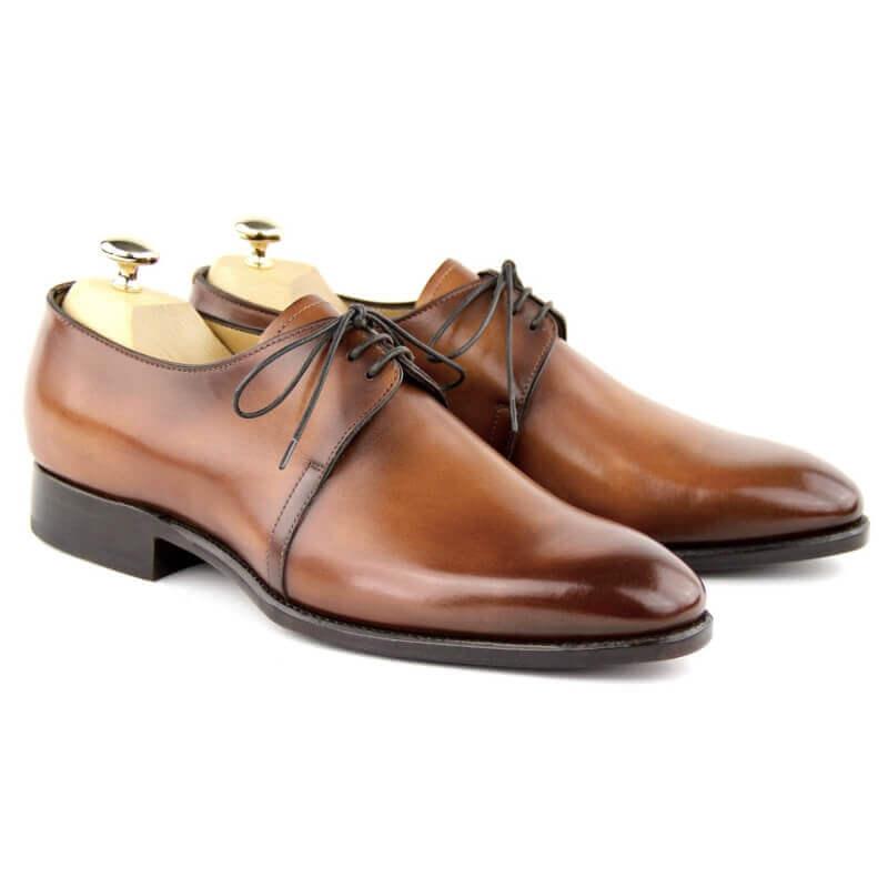 Derby Shoes MC01 - Cognac