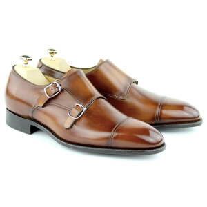 Monks Shoes MC01 - Cognac
