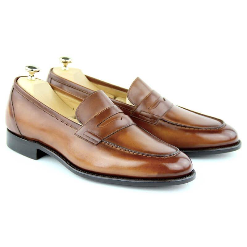 Loafers Shoes MC01 - Cognac