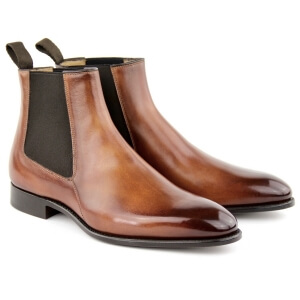 Boots Shoes MC01 - Cognac